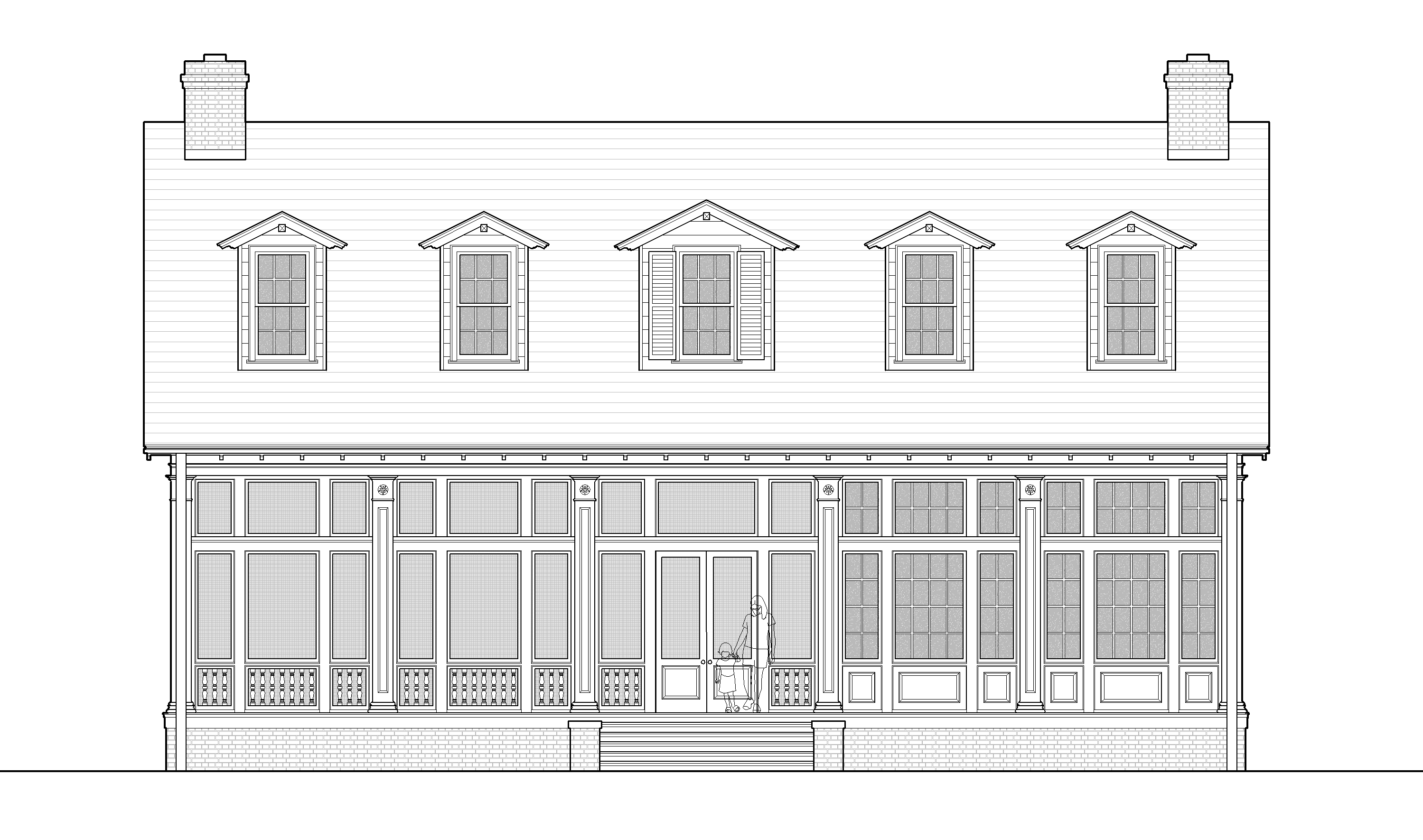 Island House Elevation